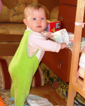 ребенок 8 месяцев