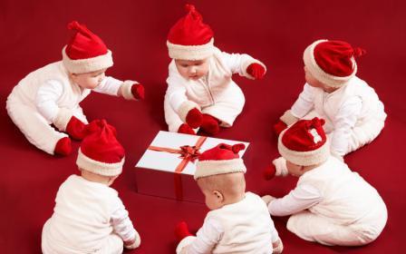 новогодние дети