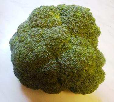 Кочан брокколи